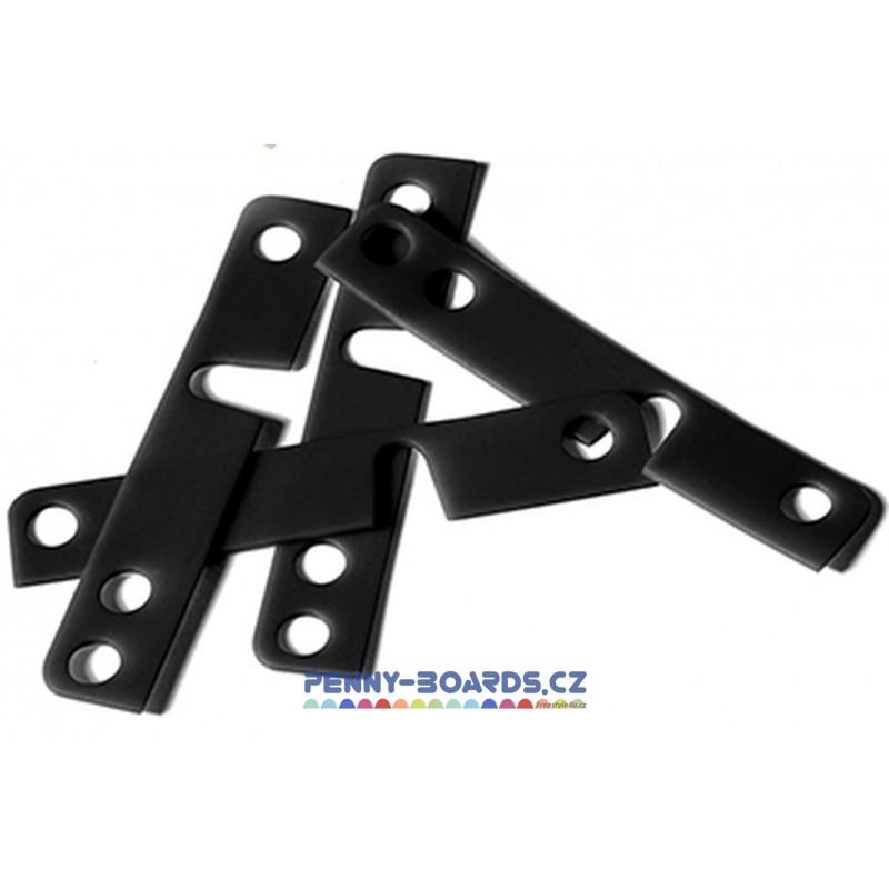 Podložky pod trucky MINDLESS - DT Shock Pads Black 1mm