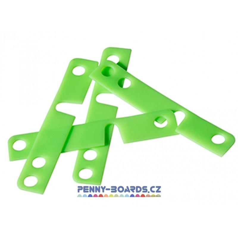 Podložky pod trucky MINDLESS - DT Shock Pads Green 1mm