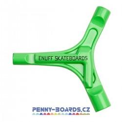 Klíč multifunkční ENUFF Y-TOOL GREEN pro pennyboard, longboard, skateboard