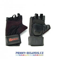 Rukavice ANARCHY AGRESIVE GLOVE BLACK | velikosti S/M/L