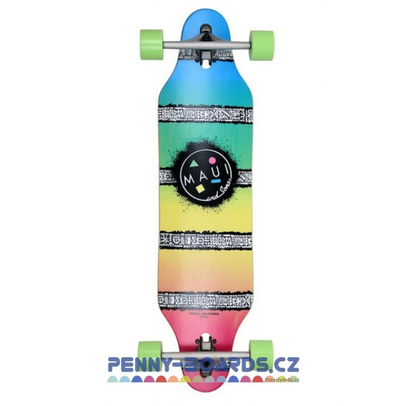 Longboard MAUI AND SONS SHAVE ICE CUTOUT 36"