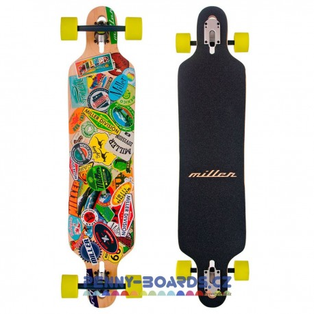 Longboard MILLER Travel Stickers 41"