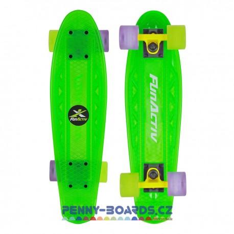 "Pennyboard FUNACTIV PAUD CLEAR GREEN 22,4""|57cm"