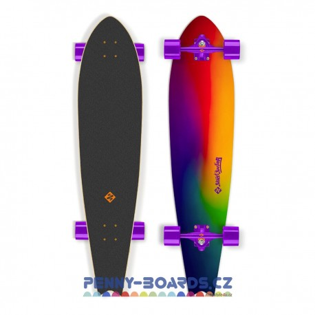 Longboard STREET SURFING FISHTAIL  Sunset Blur 42"