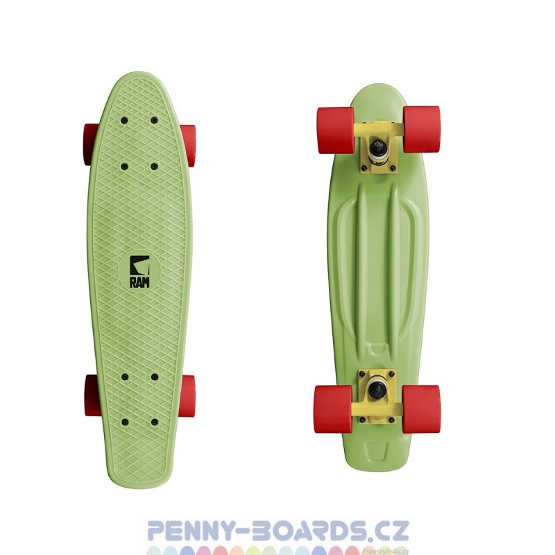 "Pennyboard RAM Melon Green 22"" | 55,9cm Mini Cruiser"