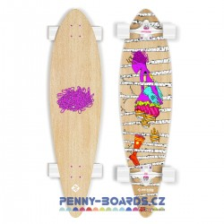 Longboard STREET SURFING FISHTAIL  The Leaf  42"