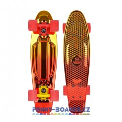 Pennyboard TEMPISH Buffy Star CHROME GOLD 22,5"