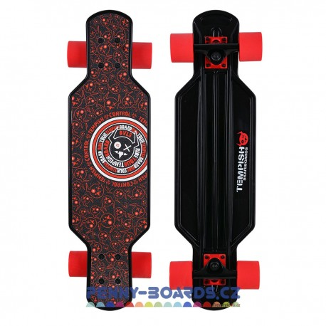 Longboard mini TEMPISH Buffy Control BLACK/RED 29"