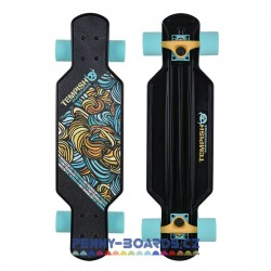 Longboard mini TEMPISH Buffy Control BLACK/MINT 29"