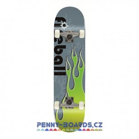 "Skateboard VOLTAGE Classic Fireball GREEN 31""|79cm"