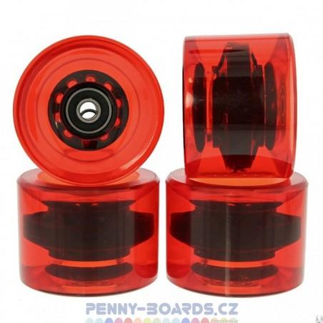 Kolečka pro longboard MARONAD|69x50mm|ABEC-11|4ks| RED