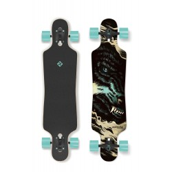 Longboard STREET SURFING FREERIDE The Wolf 39"