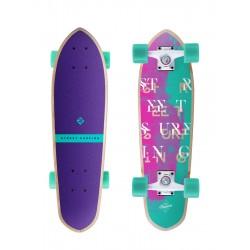 "Longboard STREET SURFING Kicktail 26""|65cm| CORAL"