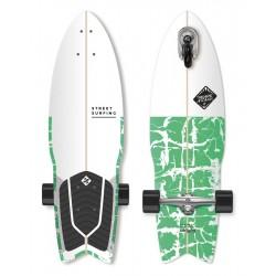 "Longboard STREET SURFING 3-Kolový Shark Attack 30""|76cm| PSYCHO GREEN"
