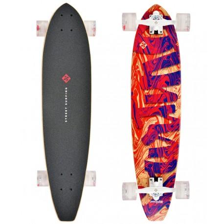 "Longboard STREET SURFUNG Kicktail 36"" 91cm  Streaming"