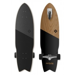 Longboard STREET SURFING WAVE-LONG Shark Attack 36"