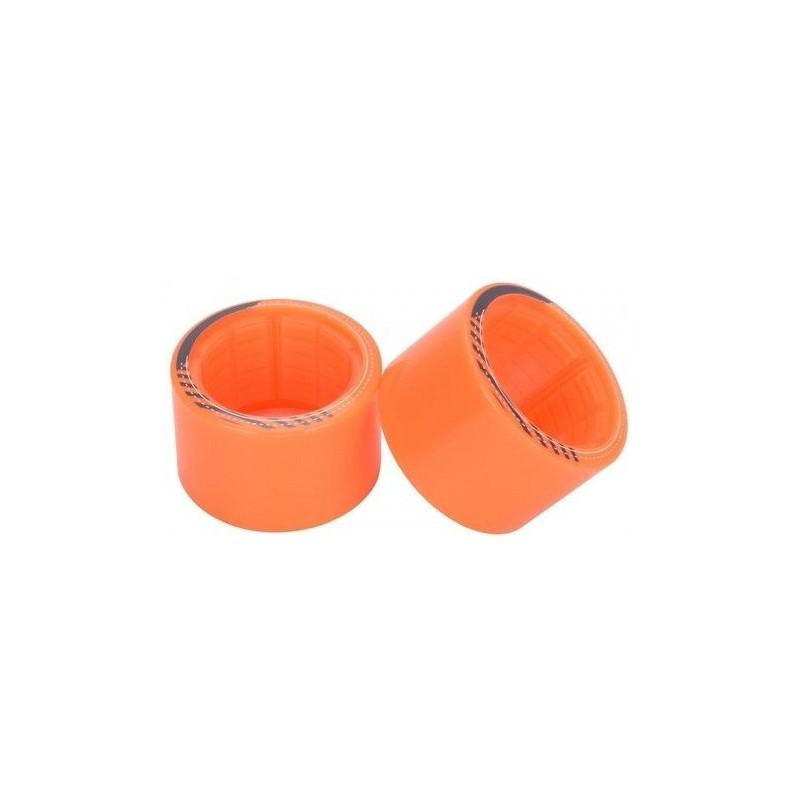 Kolečka EXWAY X1 (2 gen) | Přední | 2 ks | 85mm | Orange