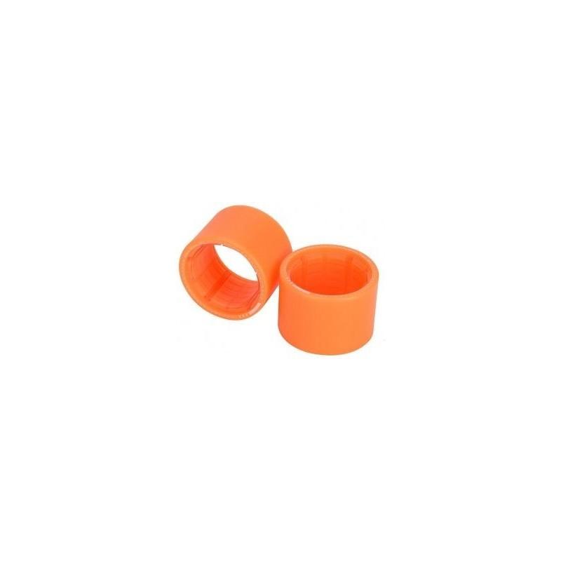 Kolečka EXWAY X1 (2 gen) | Zadní - BEZ MOTORU | 2 ks | 85mm | Orange