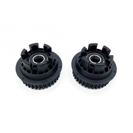 Adaptér pro kolečka EXWAY X1  Flex  RT1-3 16mm | BLACK