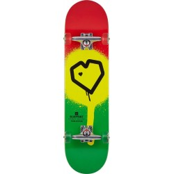 Skateboard BLUEPRINT Spray Heart V2  8"