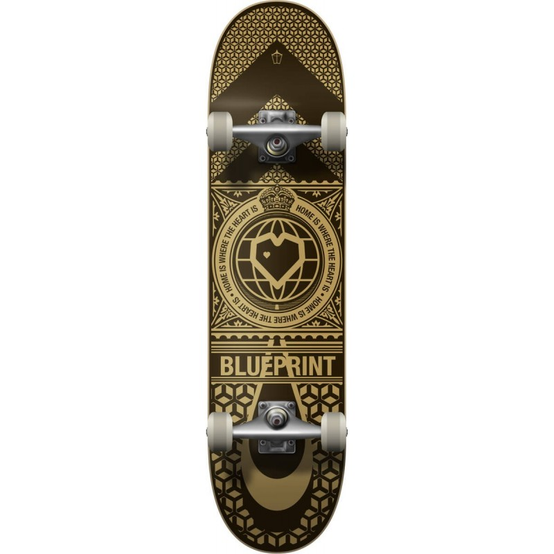 Skateboard BLUEPRINT Home Heart V2  8"
