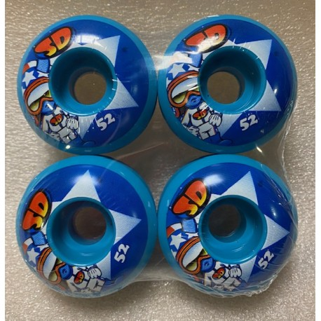 Kolečka pro skateboard SPEED DEMONS Characters STARS | 52x34mm, sada 4ks