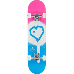 Skateboard BLUEPRINT Spray Heart V2  7.75"
