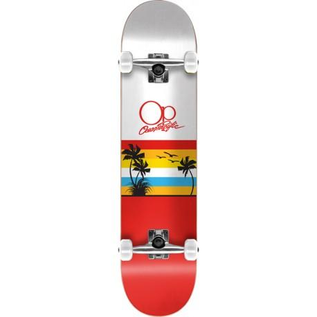 "Skateboard OCEAN PACIFIC Sunset 8"" | RED"