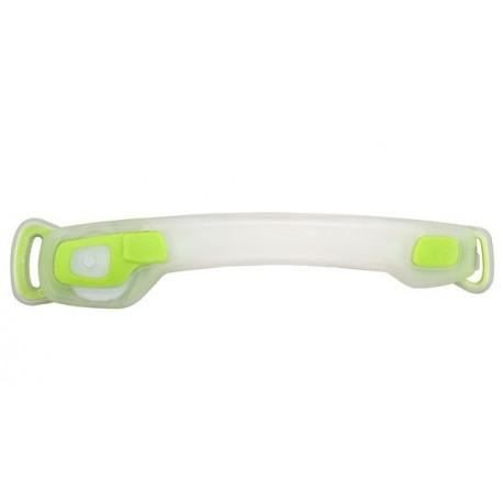 PRO-T Bezpečnostní pásek s blikačkou | ZELENÁ