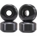 Kolečka pro skateboard ESSENTIALS | 52x32mm | 99A | sada 4ks | BLACK