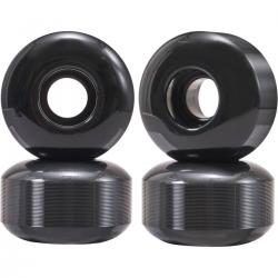 Kolečka pro skateboard ESSENTIALS | 53x32mm | 99A | sada 4ks | BLACK