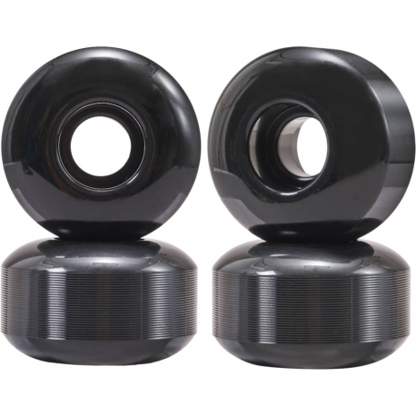Kolečka pro skateboard ESSENTIALS | 52x32mm | sada 4ks | BLACK