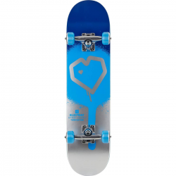 Skateboard BLUEPRINT Spray Heart V2  8.25"