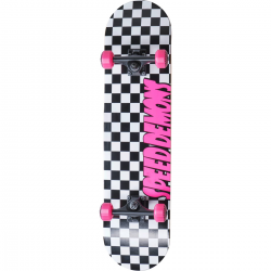 Skateboard SPEED DEMONS Checkers 7.75"