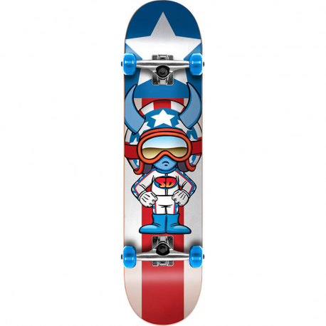 Skateboard SPEED DEMONS Characters 7.25"