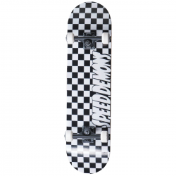 Skateboard SPEED DEMONS Checkers 8"