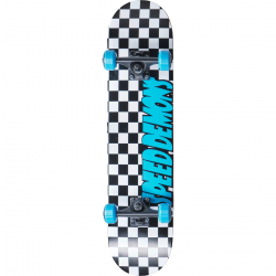 Skateboard SPEED DEMONS Checkers 7.25"