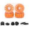 Kolečka EXWAY X1 Cloud Wheel 120mm Combo - kompletní sada | ORANGE