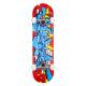 "Skateboard ROCKET Bricks Mini 7.375"""