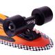 "Nickelboard PENNY AUSTRALIA Cruiser 27"" Flame | 69cm | BLACK-YELLOW"