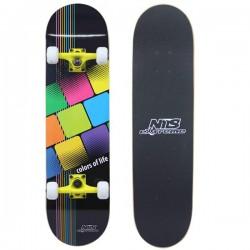 "Skateboard NILS EXTREME 31"" | 79cm | COLOR OF LIFE"