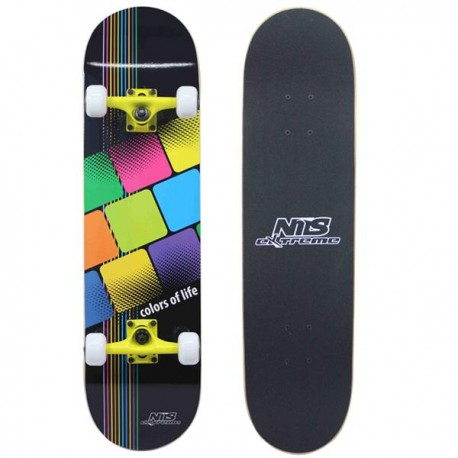 "Skateboard NILS EXTREME COLOR OF LIFE 31""|79cm"