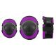 Chrániče NILS Extreme H110 Triple pad set | XS/S/M | PURPLE