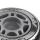 Kolečka pro In-line NILS EXTREME 64x24 Sada 4ks BLACK