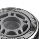 Kolečka pro In-line NILS EXTREME|64x24|Sada 4ks|BLACK