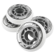 Kolečka 70x24mm pro In-line NILS EXTREME | Sada 4ks | WHITE