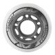 Kolečka 76x24mm pro In-line NILS EXTREME | Sada 4ks | WHITE
