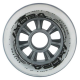 Kolečka 90x24mm pro In-line NILS EXTREME | Sada 4ks | TRANSPARENT