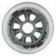 Kolečka 76x24mm pro In-line NILS EXTREME | Sada 4ks | TRANSPARENT