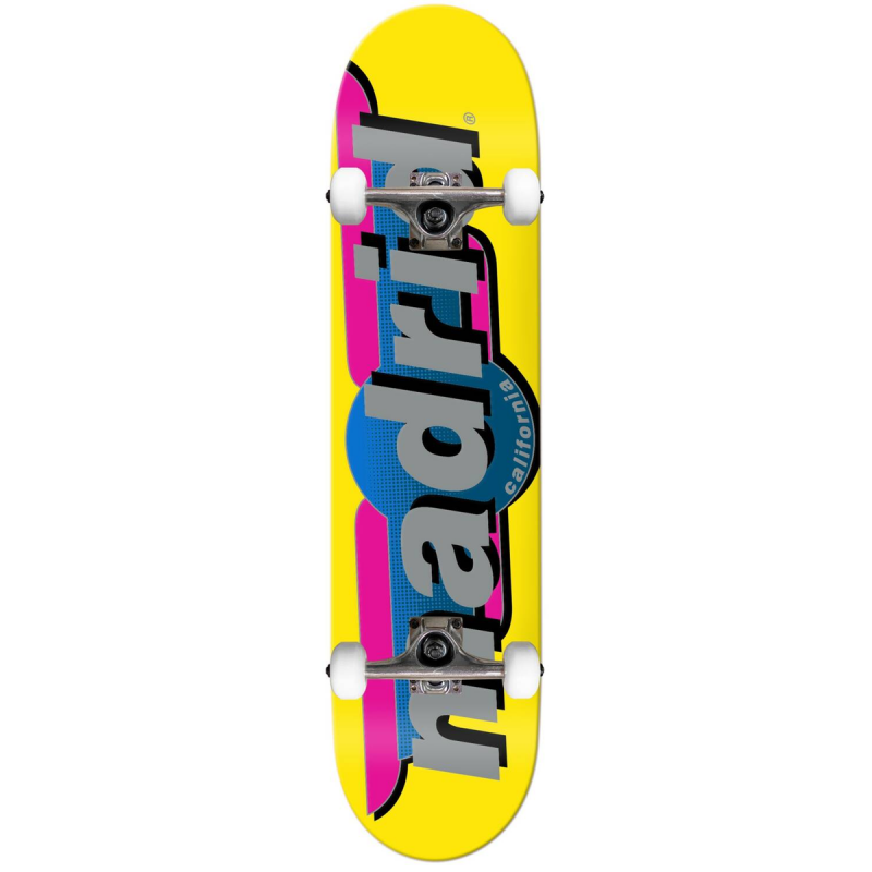"Skateboard MADRID 7.75""   YELLOW"